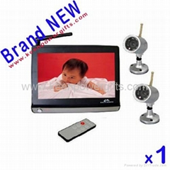 audio and video baby monitor