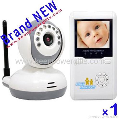 2.4G Wireless Baby Monitor IR Camera cam Home Security surveillance system kit  1