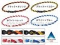 Phiten X30 Tornado bracelets