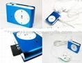 hidden Camera clip MP3 player