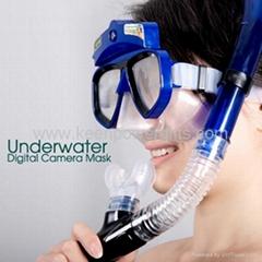 HD Diving Mask Camera