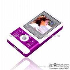 4GB 1.5-inch MP3 / MP4 Players With FM Function Five Colors Available