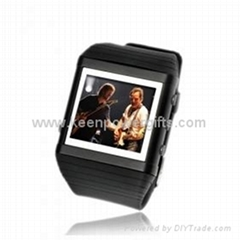 4GB 1.8 Inch Watch MP4/MP3 Player