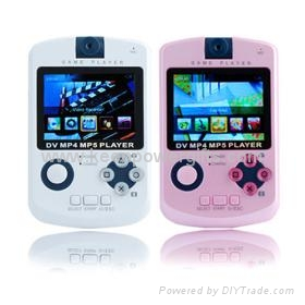 4GB QVGA Panel All-In-One Media Player (DV/MP3/MP4/Game/Camera/FM Function) 2 Co 1