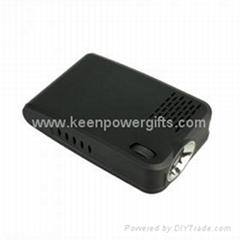 USB Display MP4 Player Mini LED Projector 10lm