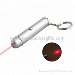 0.5mW Red Laser Keychain