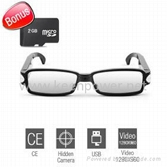 Vision HD - Spy Sunglasses Camera with Web Camera