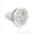 GU10 4-LED 360-Lumen 3500K Warm White