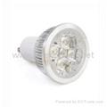 GU10 4-LED 360-Lumen 3500K Warm White