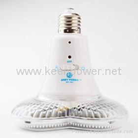 Remote Control 20 LED Rechargeable Emergency Light (Heart Shaped) 2