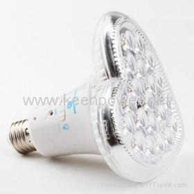 Remote Control 20 LED Rechargeable Emergency Light (Heart Shaped) 4