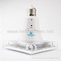Remote Control 25 LED Rhombus Rechargeable Emergency Light 2