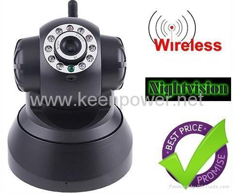 Nightvision IR Webcam Web CCTV Camera WiFi Wireless IP Camera 1