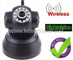 Nightvision IR Webcam Web CCTV Camera WiFi Wireless IP Camera