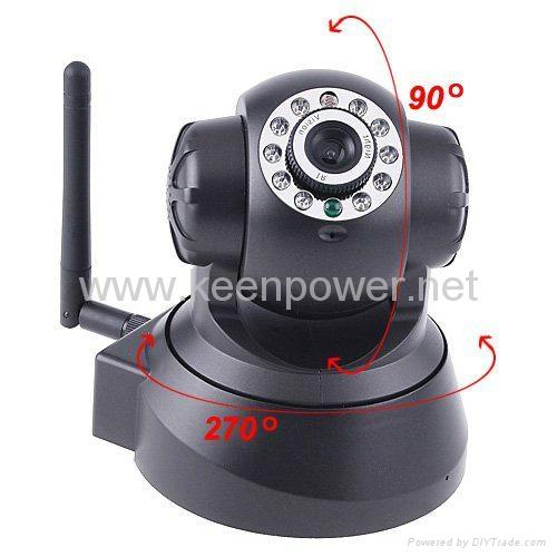 Nightvision IR Webcam Web CCTV Camera WiFi Wireless IP Camera 3