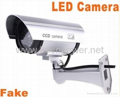Wireless Waterproof IR LED Surveillance Fake Dummy Camer