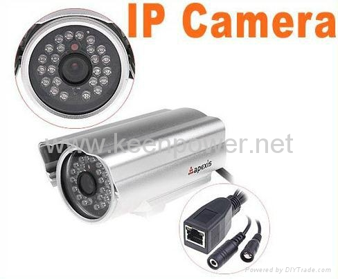 Apexis Wired Nightvision IR LED Security Webcam Web IP Camera CCTV Camer 1