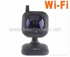 Mini Wireless/Wired WiFi IR LED Security IP Nightvision Camera
