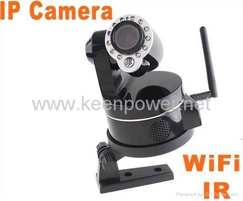 Wireless WiFi IP Camera Webcam Web Camera IR Nightvision P/T 2-Audio  1