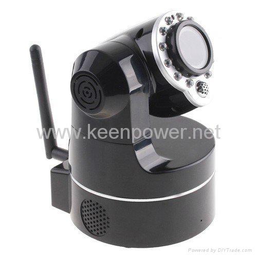 Wireless WiFi IP Camera Webcam Web Camera IR Nightvision P/T 2-Audio  3