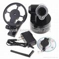 Wireless WiFi IP Camera Webcam Web Camera IR Nightvision P/T 2-Audio  4