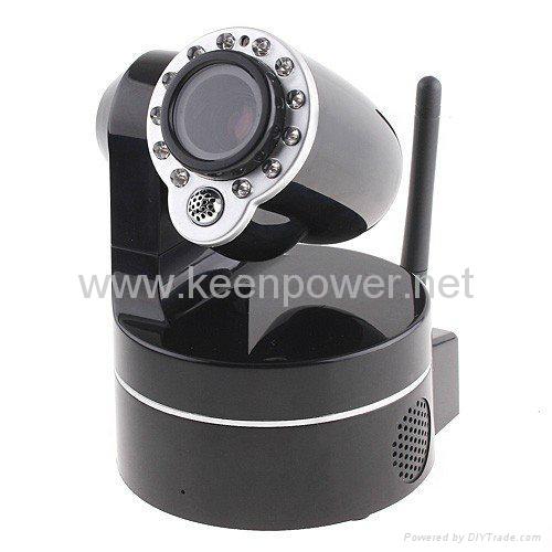 Wireless WiFi IP Camera Webcam Web Camera IR Nightvision P/T 2-Audio  5