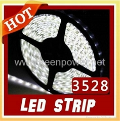 5M White 3528 LED Strips 300leds  Non-waterproof SMD LED Flexible Light