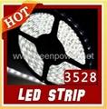 10M 3528 Led Strips, 60Leds/M White