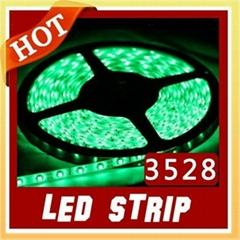 5M Green 3528 Led Strip