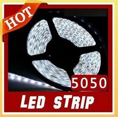 5M 5050 LED Strip Light Non-Waterproof 300 Leds White Flexible Strip Lights