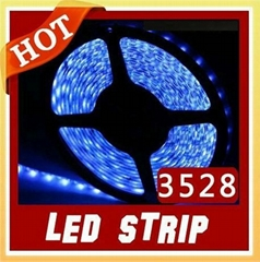 10M 3528 Flexible LED Strip SMD Led Tube Type Blue Waterproof 60 Leds/M