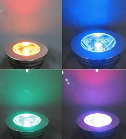3W E27 Remote Control LED Bulb Lamp 16 Color Spot Light  2