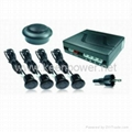 Buzzer Type Parking Sensor - 4 Sensor -