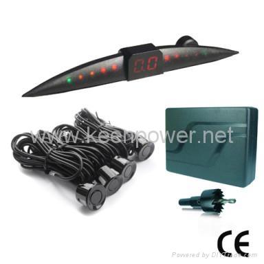 Parking Sensor (4 Sensors, Mini LED Display) 1