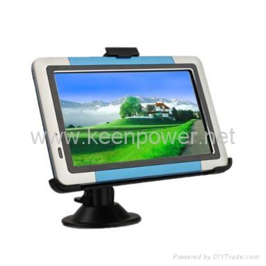 "5.0"" Portable High Definition Touch Screen Car GPS Navigator - Media - Games - S 1"