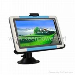 "5.0"" Portable High Definition Touch Screen Car GPS Navigator - Media - Games - S"