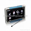 "5.0"" Portable High Definition Touch Screen Car GPS Navigator - Media - Games - S 3"