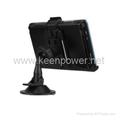 "5.0"" Portable High Definition Touch Screen Car GPS Navigator - Media - Games - S 4"