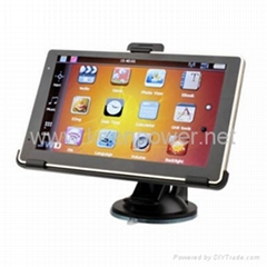 Car GPS Navigator + 6 Inch Touchscreen + FM Transmitter + Edog + Built-in 4G Mem