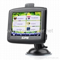 Car GPS Navigator + 3.5 Inch Touchscreen