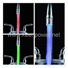 Stylish Water Powered Kitchen LED Faucet Light