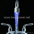 Handy Water Powered Kitchen LED Faucet Light 2