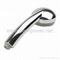 3-inch 6–LED Shower Head (Plastic, Chrome Finish) 4