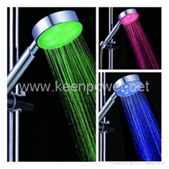 4-inch 6–LED Shower Head