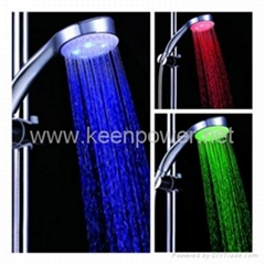 3.15-inch 5–LED Shower Head