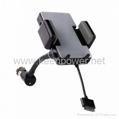Car Charger /Holder / FM Transmitter for IPhone and Ipod
