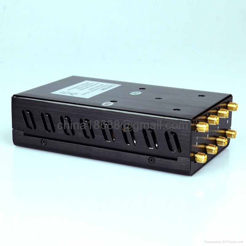 Cdma gsm dcs pcs 3g signal jamme - jammer gsm gps radio