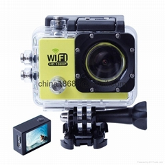 1080P waterproof deep 30M sport camera SJ6000 with multi-language