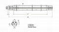 紫外線殺菌燈管 NNI270/100XL 2