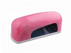 Nail Polish Dryer Lamp/220V/110V 9W Nail Art Gel UV Lamp Light Dryer